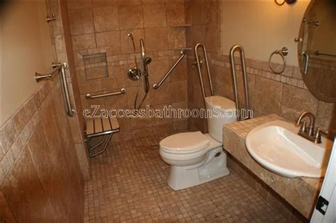 handicap bathroom ideas  pinterest
