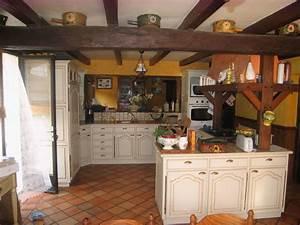 decoration d39une cuisine rustique With décoration d une cuisine