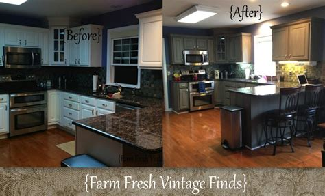 painting thermofoil kitchen cabinets  big reveal