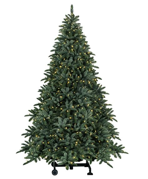 7 ft deluxe noble fir snap pre lit led christmas tree
