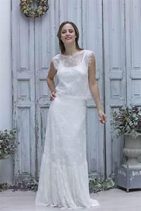 Robe De Mariée Champagne : robes de mariee boheme chic ~ Preciouscoupons.com Idées de Décoration