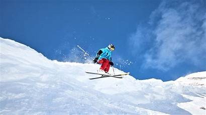 Ski Skiing Snow Winter Mountains Wallpaperup Wallpapers