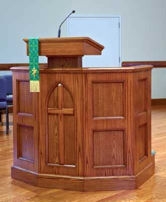 custom pulpit  imperial woodworks  church pulpit