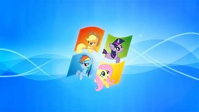 Pony Windows Deviantart Mlp Desktop Fluttershy Backgrounds