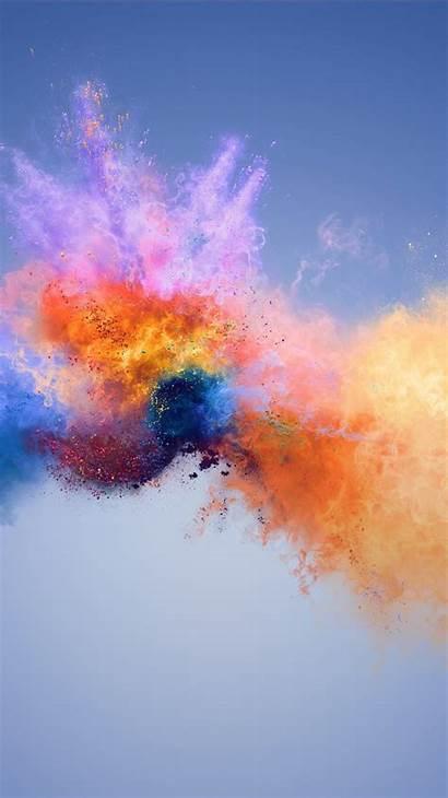 Colors 4k Splash Honor Wallpapers Huawei Phone