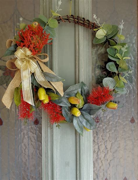 artificial australian flower wreath wedding flowers madeit au