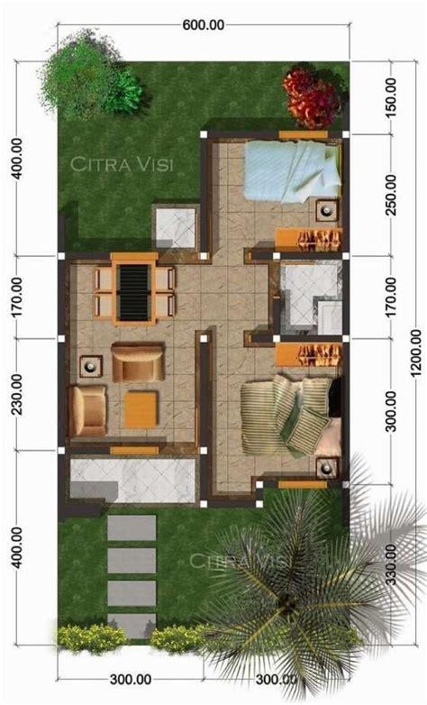 gambar denah rumah minimalis ukuran  rumah desain