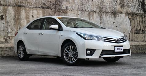 Review Toyota Corolla Altis by Review 2014 Toyota Corolla Altis 1 6 V Philippine Car
