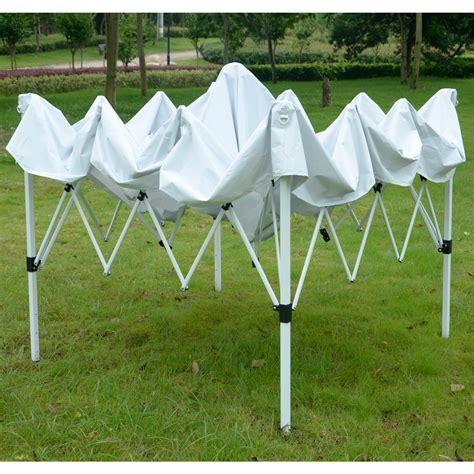 ez pop  canopy wedding party tent outdoor folding patio gazebo shade shelter ebay