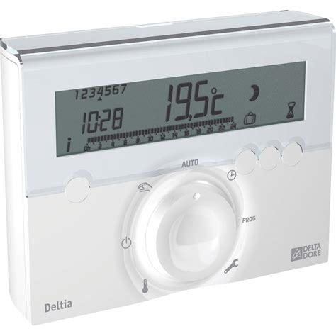thermostat programmable filaire delta dore deltia