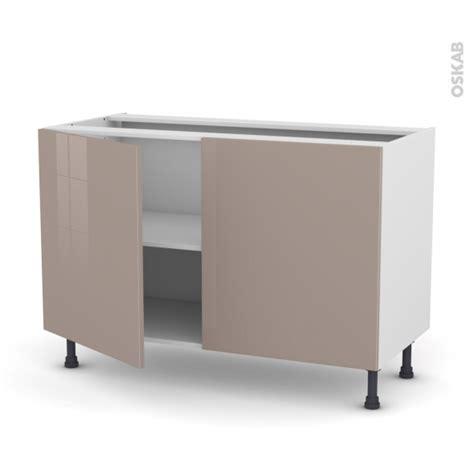 cuisine moka meuble de cuisine bas keria moka 2 portes l120 x h70 x p58