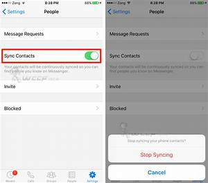 Synchroniser Contact Iphone : stop facebook messenger from syncing your iphone contacts how to ~ Medecine-chirurgie-esthetiques.com Avis de Voitures