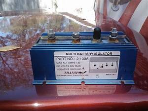 Dual Batteries With Isolator - Ranger-forums
