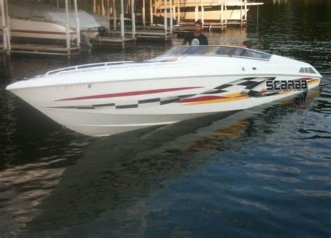 Scarab Boats Pictures by Pin Wellcraft Scarab 377 On