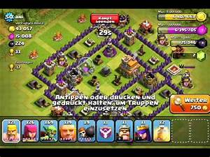 Clash of Clans Attack by pekka lvl 3 Barbarian King lvl 9 ...