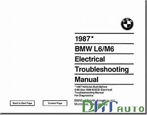 Troubleshooting Manual   M6 1987 Electrical