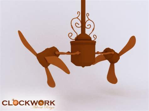 Steampunk Ceiling Fan Image