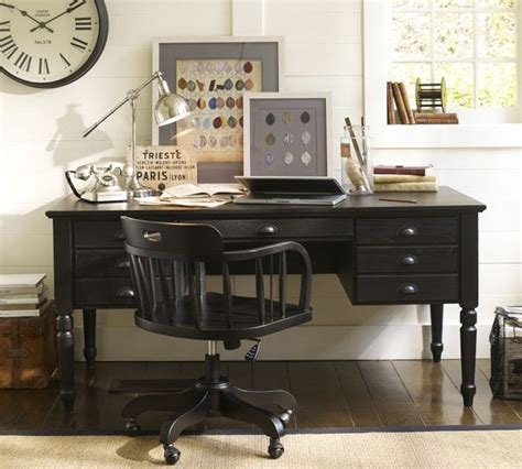 pottery barn printer s desk printer 39 s keyhole desk traditional desks and hutches