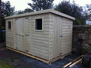 affordable heavy duty pent shed prices available online With best prices on outdoor sheds