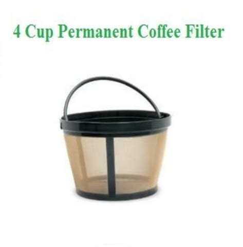 Choose from contactless same day delivery, drive up and more. 1 X 4-Cup Basket Style Permanent Coffee Filter fits Mr. Coffee 4