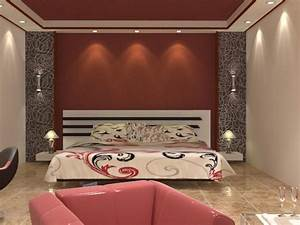 Wall decor for master bedroom : Bloombety pretty master bedrooms red wall decor how to