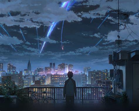 wallpaper  desktop laptop aw yourname night anime