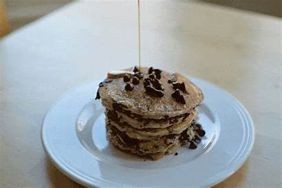 Pancakes Banana Chocolate Oat Making Theusualsaucepans