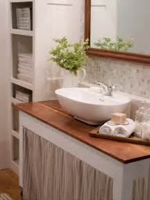 simple small bathroom decorating ideas 20 small bathroom design ideas hgtv