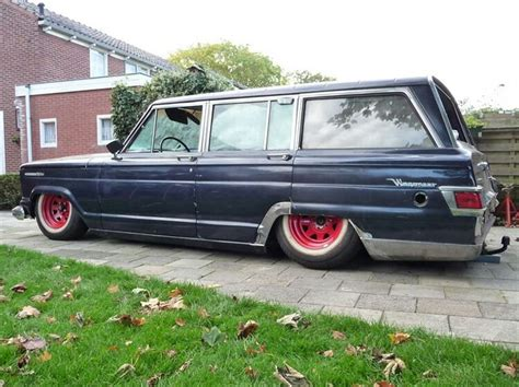 slammed willys jeep slammed jeep wagoneer planes trains and automobiles