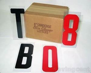 new 6 inch plastic changeable letter set for outdoor sign With outdoor sign letter changer