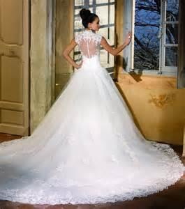 robe de mariã e en dentelle robe de mariée longue traine princesse