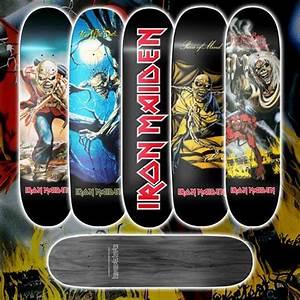 Iron Maiden - Official Iron Maiden skate decks now ...