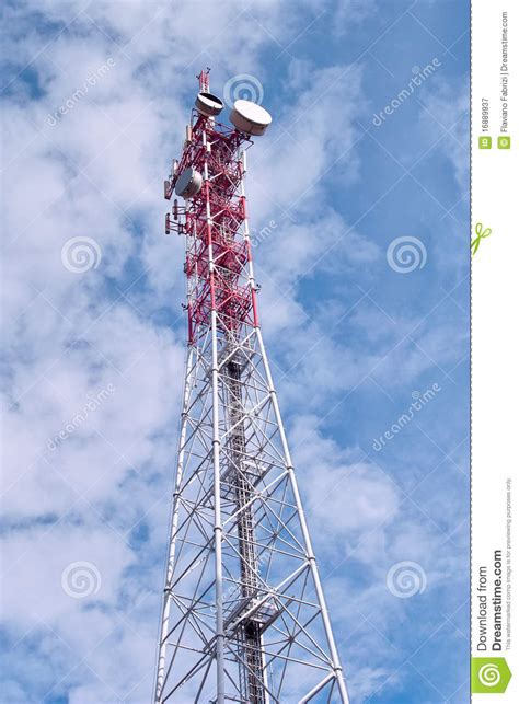 traliccio per antenne traliccio con le antenne immagine stock immagine di