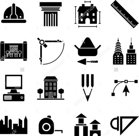 Architecture Icons  5+ Free Psd, Vector Ai, Eps Format