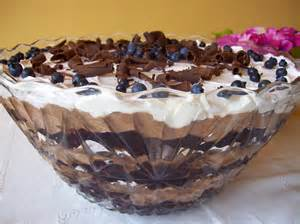 Chocolate Punch Bowl Cake Recipe