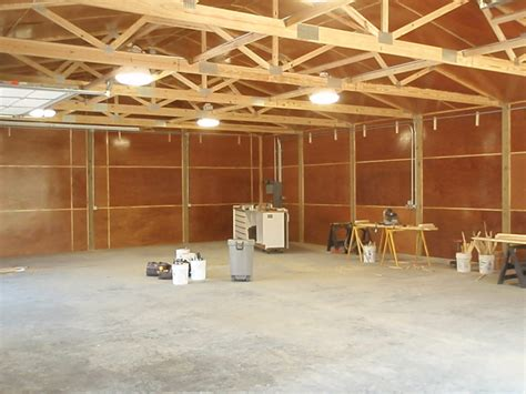 pole barn home interior all in one builders michigan pole barns garages