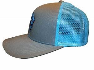 Preppy Pirate Outfitters Neon mesh trucker snap back hats