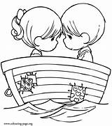 Coloring Pages Couple sketch template