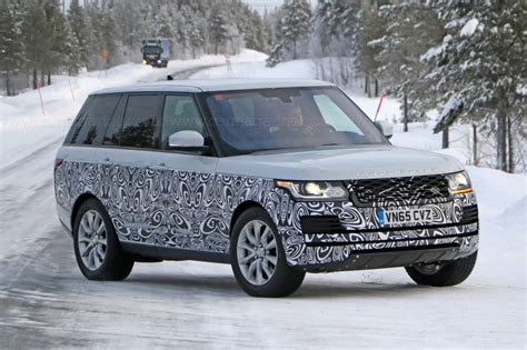 tiny facelift  range rovers biggest model