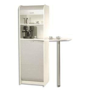 meuble cuisine cagne meuble de rangement pour machine a cafe et four micro