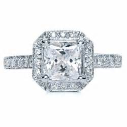 halo princess cut engagement ring princess cut with halo engagement ring 169 bellevue seattle joseph jewelry