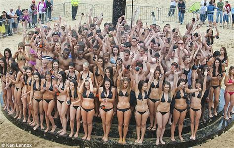 Guys And Showering Together Shower Breaks Guinness World Record In Bournemouth
