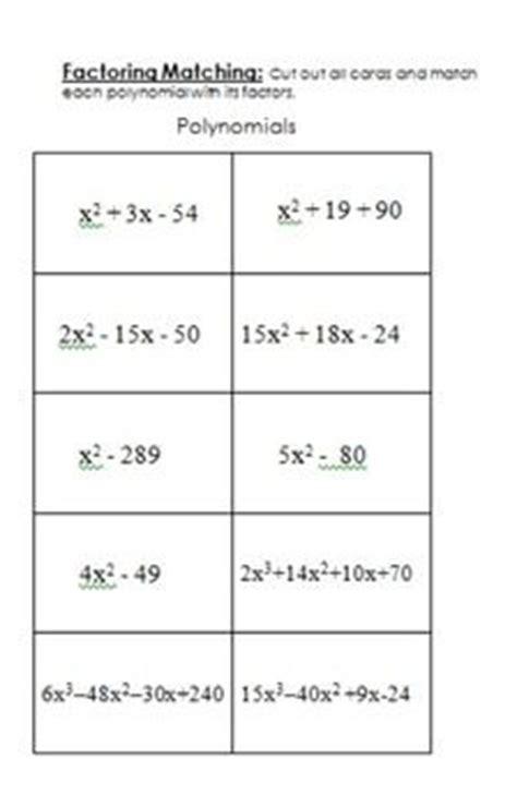 factoring maze worksheet factoring quadratics maze 3