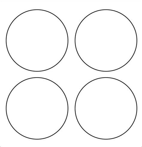 Circle Template Free Printable Circle Template Word