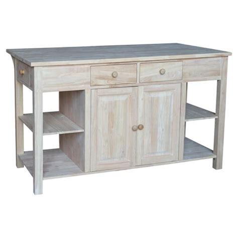 unfinished furniture kitchen island kitchen islands carts wayfair