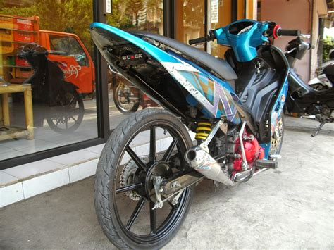 Gambar Modifikasi Jupiter Mx by Jupiter Mx Modifikasi Drag Terbaru Thecitycyclist