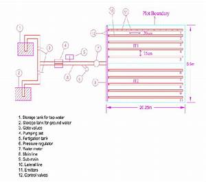 Drip Irrigation System And Field Layout
