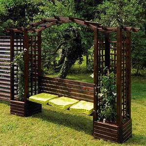 tonnelle hexagonale kiosque de jardin With beautiful tonnelle de jardin fer forge 7 tonnelles et pergolas jardi brico