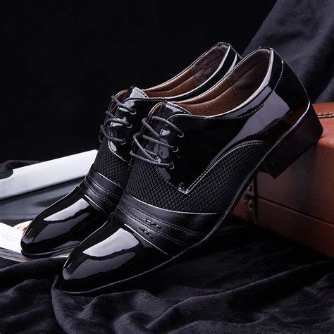 New Size Mens Dress Shoes Fashion Oxford