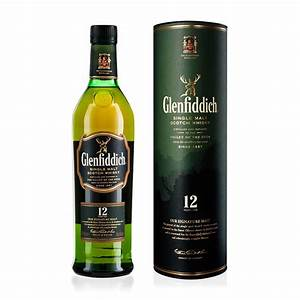 Glenfiddich Single Malt Scotch Whiskey 12 Years Old 750ml ...